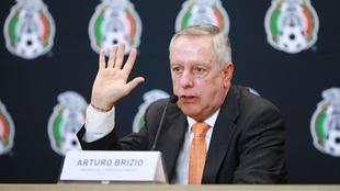 Arturo Brizio, presidente de la Comisión de Árbitros.