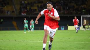 Ronaldinho disfrutará de Bogotá.