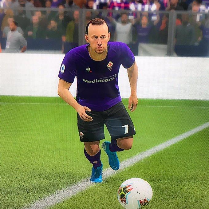 FIFA 20: la cara de Franck Ribéry incendia las redes