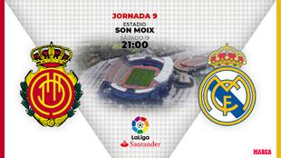 Mallorca - Real Madrid: horario y donde ver por TV hoy el partido de...