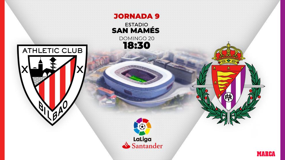 comprar auténtico oferta super especiales LaLiga Santander 2019 - 20: Athletic - Valladolid: horario y ...