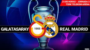 Galatasaray - Real Madrid: hora, canal y dónde ver en television el...