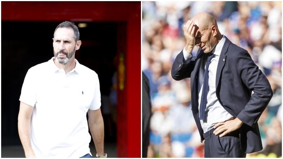 Vicente Moreno y Zidane.