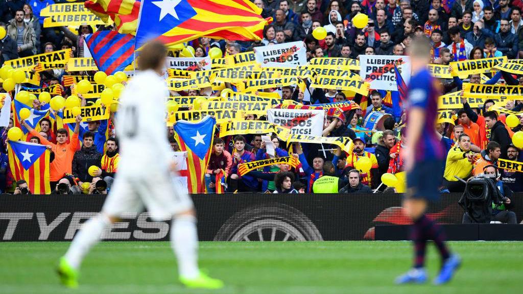 Imagen del último Clásico celebrado en el Camp Nou.