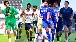 León, Chivas, Cruz Azul y Veracruz