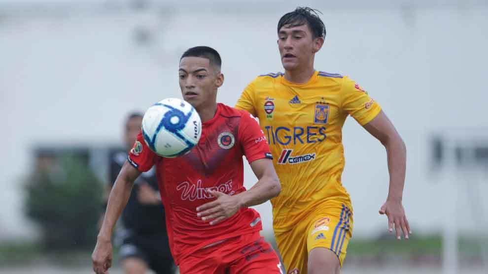 Veracruz y Tigres jugaron en las categorías sub 20 y sub 17
