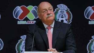 Enrique Bonilla en conferencia de prensa