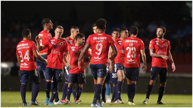 Jugadores de Veracruz