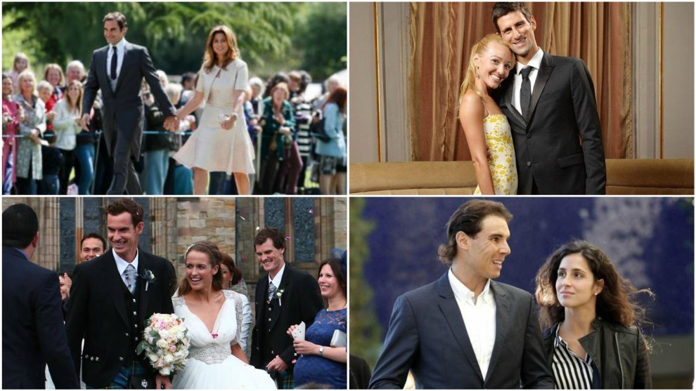 Nadal Is The Last Of Tennis Big Four To Get Married Marca In English