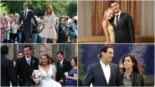 Todo el 'Big Four' del tenis habrá pasado por el altar