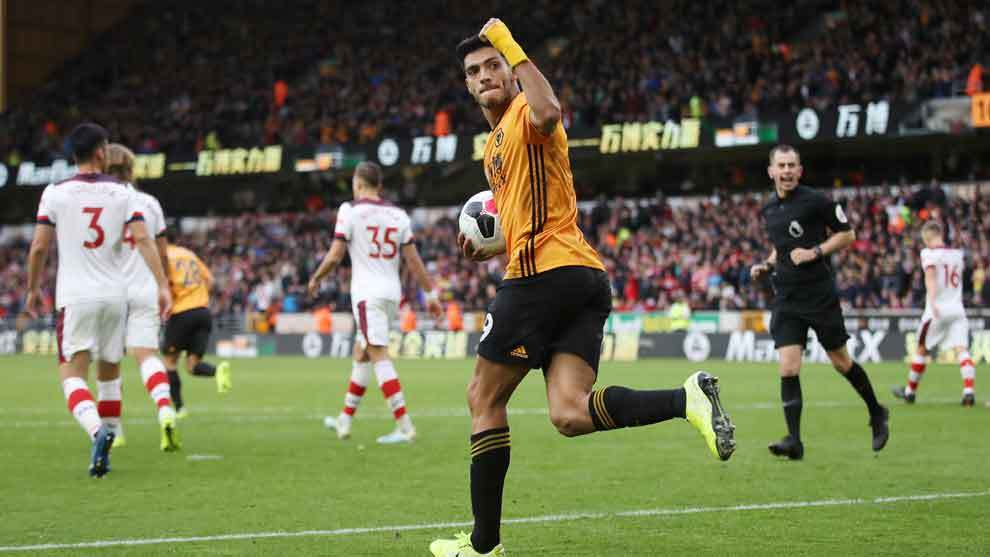 Wolves Vs Southampton Raul Jimenez Rescata A Los Wolves Marca Claro Mexico