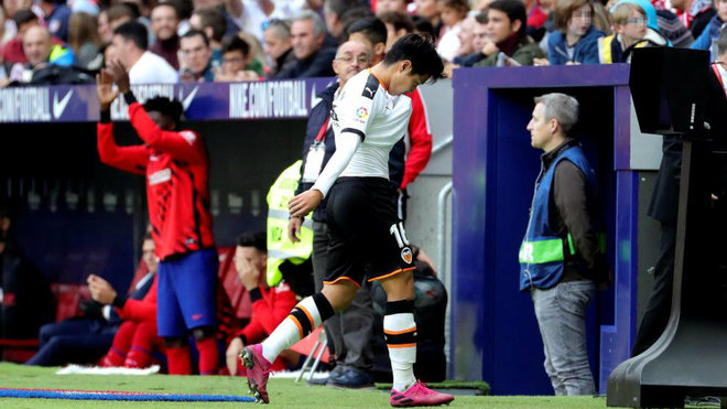 Valencia CF: Kangin Lee, an entry that 'are Red'