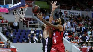 D.J. Seeley fue una pesadilla para la defensa del Bilbao Basket