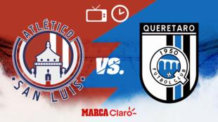 Atlético de San Luis vs Querétaro: Horario y donde ver