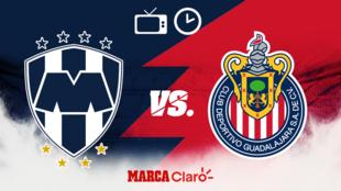 Monterrey vs Chivas: Horario y donde ver