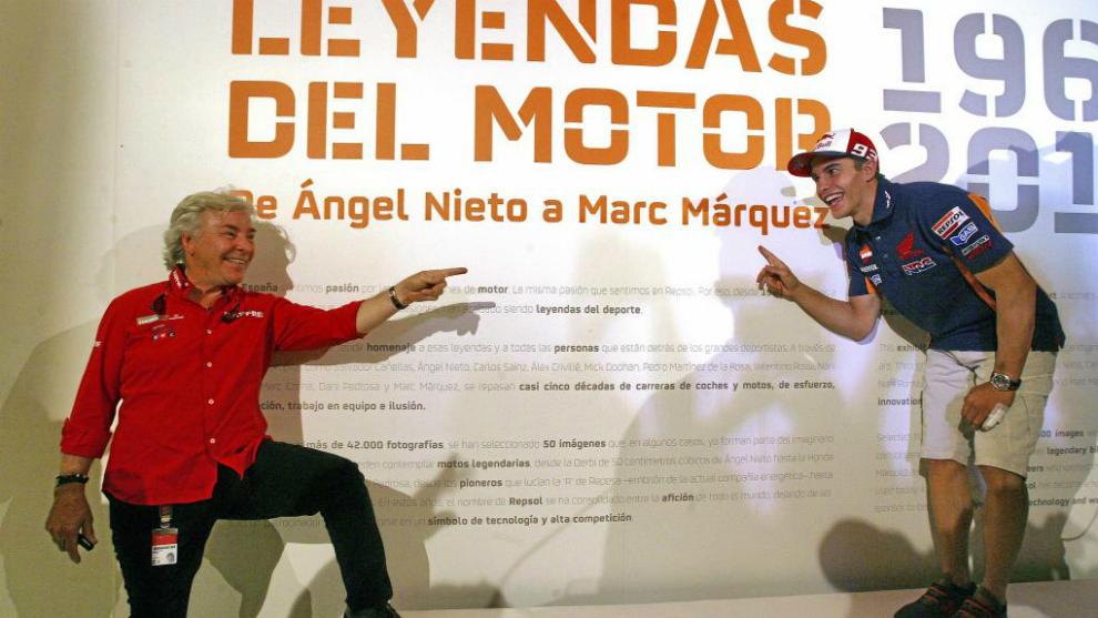 Nieto y Márquez, en 2015.