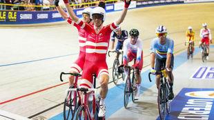 Los vencedores, Lasse Hansen y Michael Morkov, en primer plano.