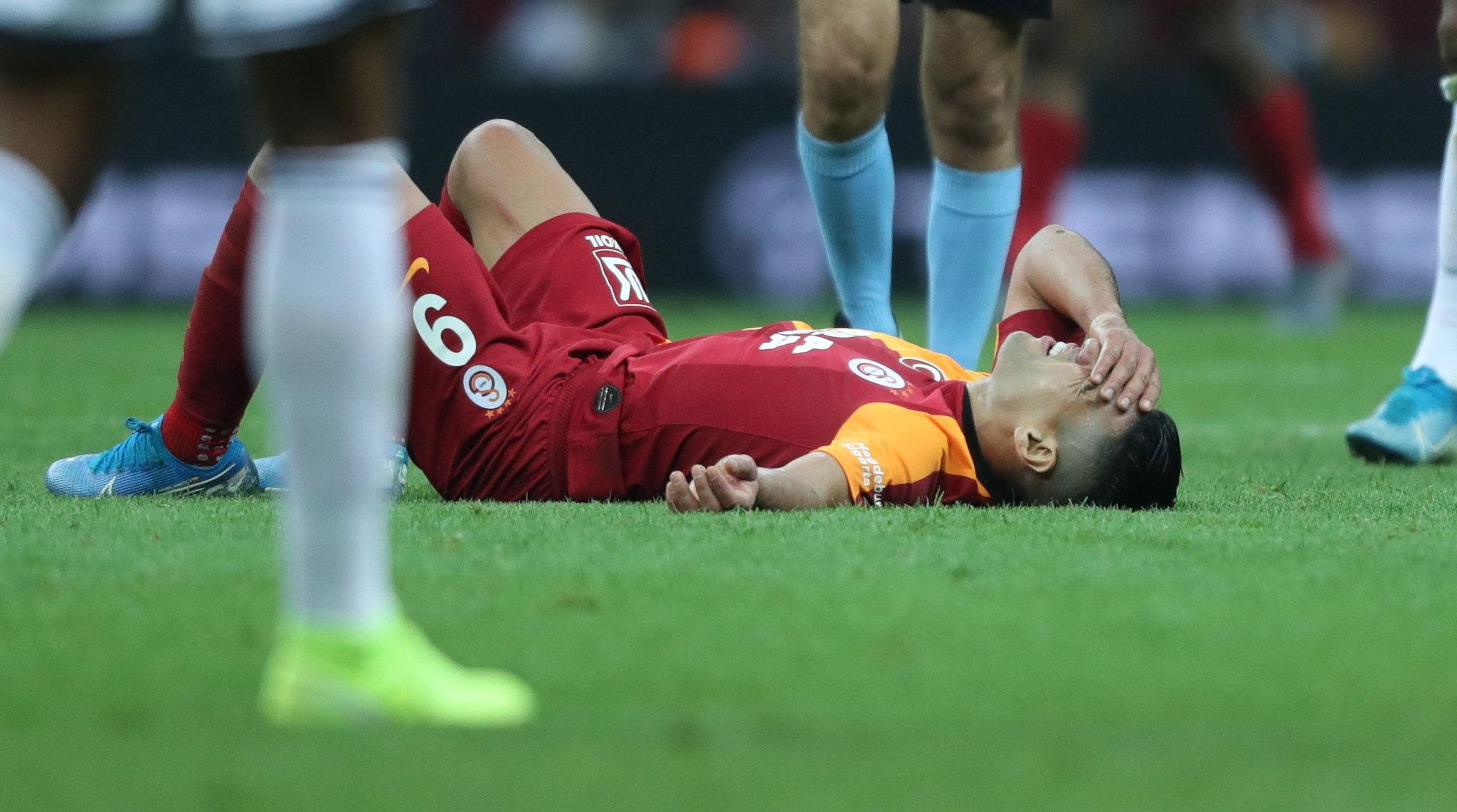 Istanbul (Turkey), 28/09/2019.- Galatasarays Radamel <HIT>Falcao</HIT> during the Turkish Super League derby match between Galatasaray and Fenerbahce in Istanbul, Turkey 28 September 2019. (Turquía, Estanbul) EFE/EPA/ERDEM SAHIN