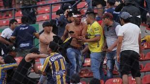 La violencia mancha el fútbol mexicano