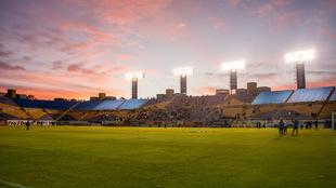 La tarde en San Luis durante aquel juego en el Clausura 2016