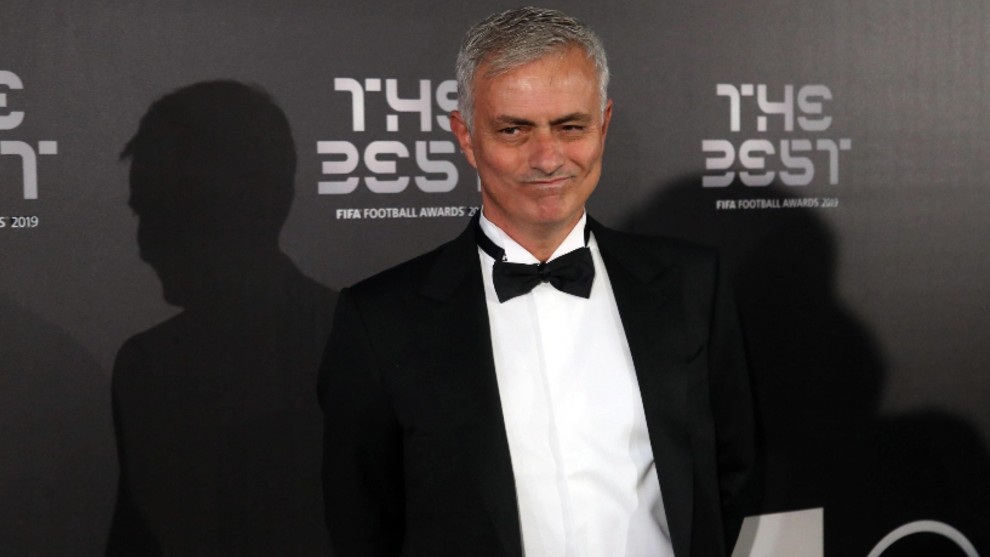 José Mourinho en los premios The Best