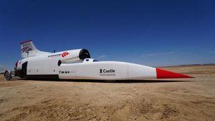 El Bloodhound quiere ser el primer coche en superar las 1.000 millas...