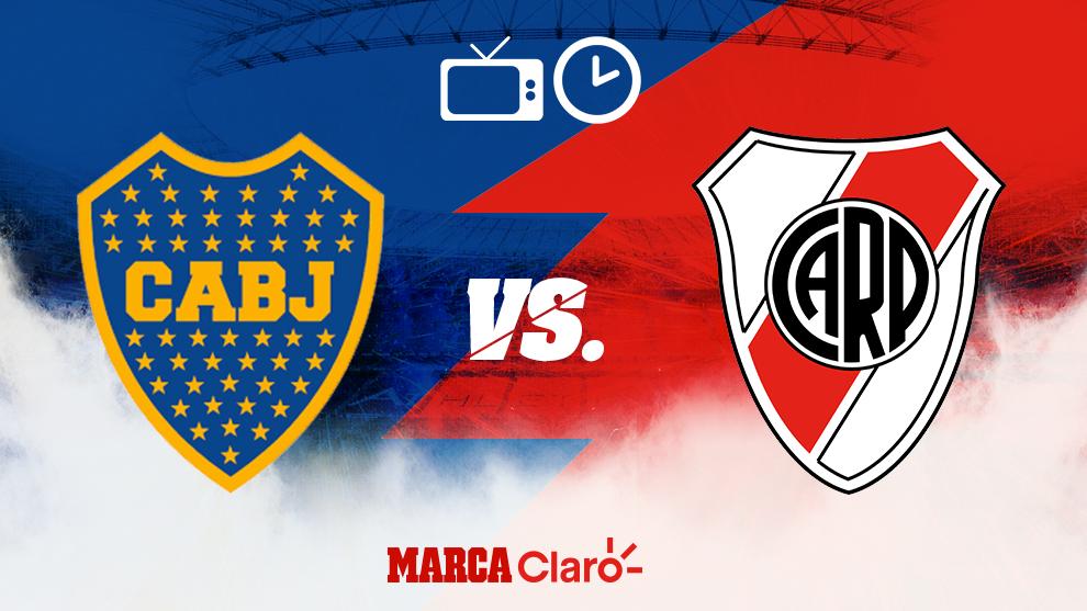 Boca vs River se juega el martes 22 de octubre.