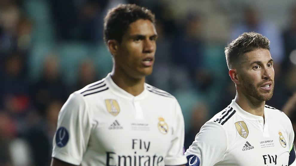 Galatasaray vs Real Madrid: Ramos and Varane: A wall in Istanbul | MARCA in English