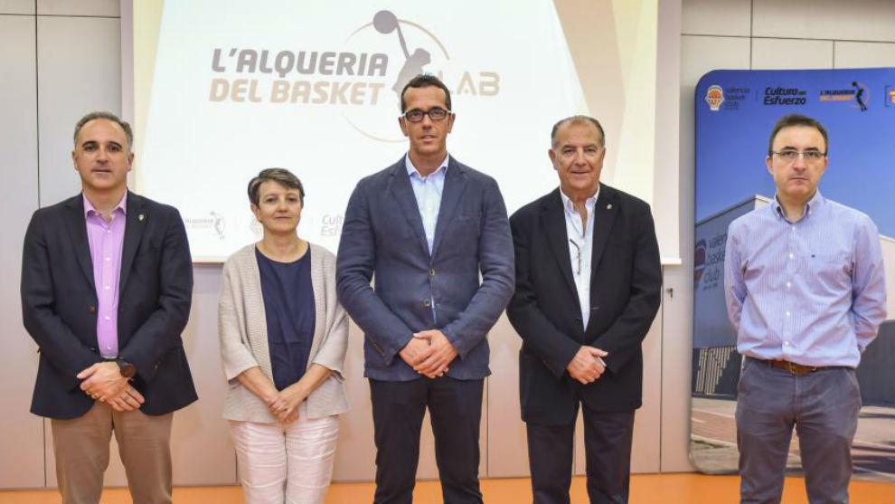 Un momento de la presentación de L'Alqueria LAB.