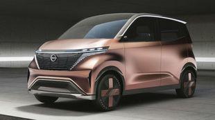 El prototipo eléctrico Nissan IMk.