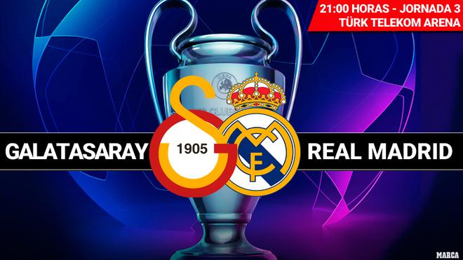 pulcro modelado duradero varios estilos Champions hoy: Galatasaray - Real Madrid: horario y dónde ...