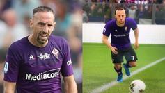 Ribéry se refirió de forma irónica a EA Sports para dar a entender...