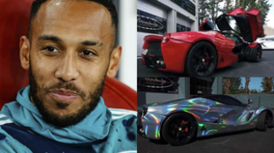 "Aubameyang responde a las críticas por cromar su Ferrari: ""Me..."