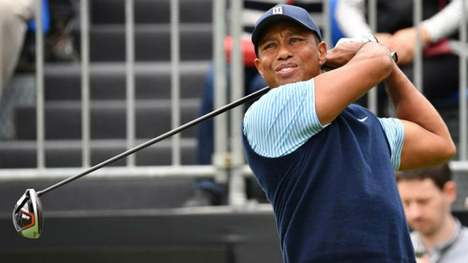 Tiger Woods en Narashino Country Club.