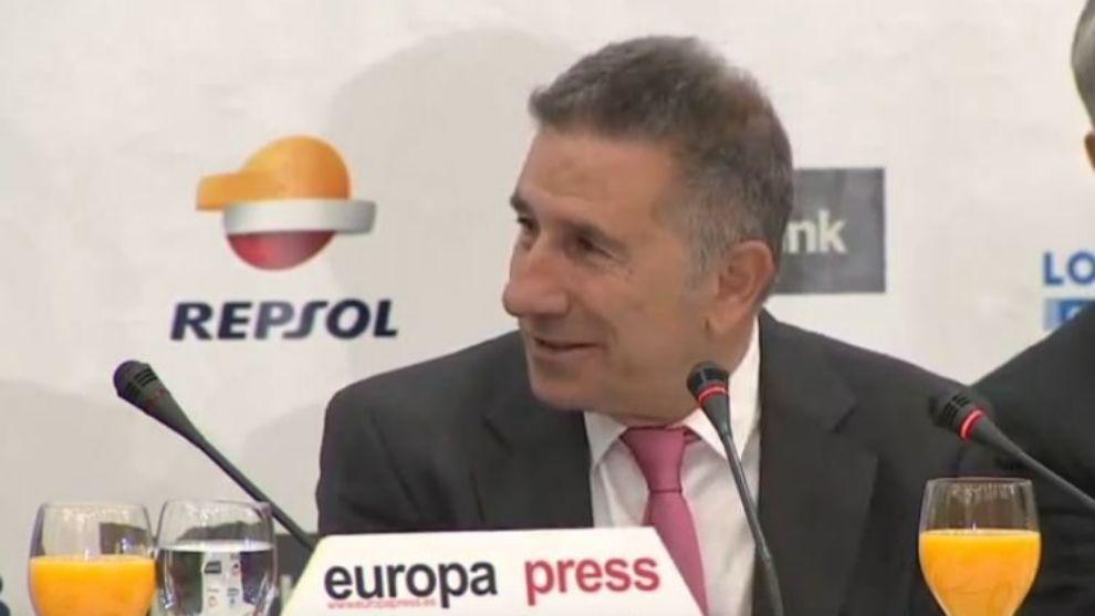 Jorge Martínez Aspar, en el evento de hoy.
