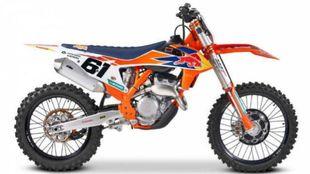 Réplica de la moto de Jorge Prado.