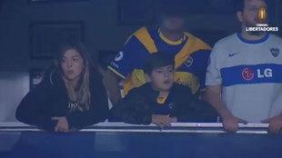 Benjamín Agüero sigue los pasos de su abuelo Maradona