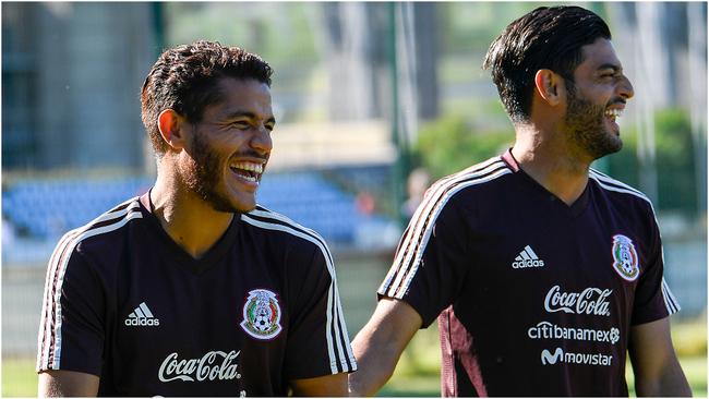 Jonathan dos Santos y Carlos Vela con selección