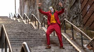 Escena de la película 'Joker' con las ya famosas escaleras.