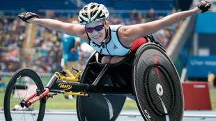 Marieke Vervoort, en los Juegos Paralímpicos de Río.