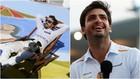Fernando Alonso, rememorando su icónica foto y Carlos Sainz este...