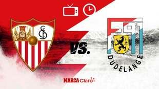 Sevilla vs Dudelange, hora y dónde ver