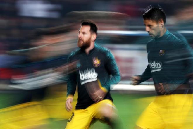 Suárez y Messi.