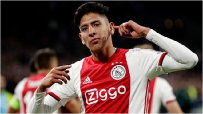 Álvarez con el Ajax