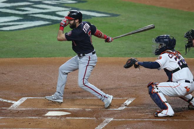 Astros vs Nationals EN VIVO: Juego 2 de la Serie Mundial 2019