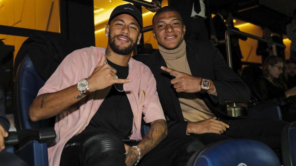 Mbappe and Neymar.
