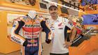 Lorenzo, durante la presentación del Repsol Racing Tour