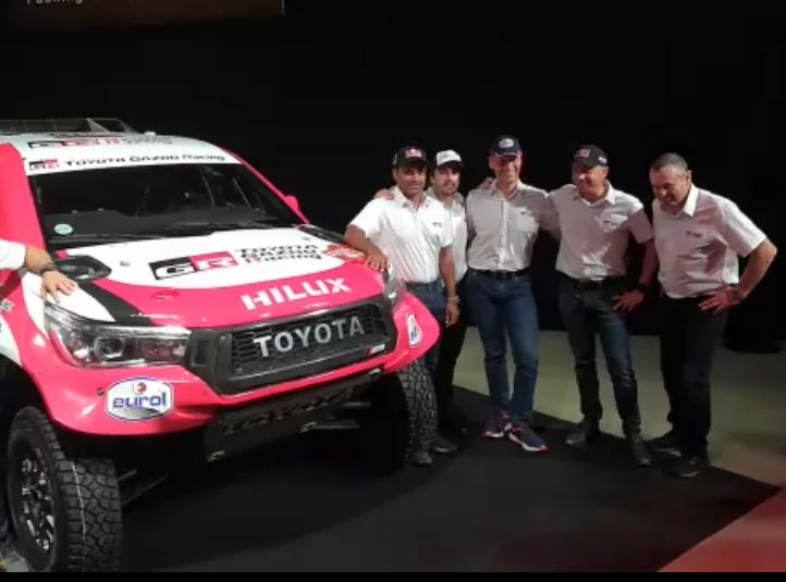 Rally Dakar 2020 Oficial Fernando Alonso Disputara El