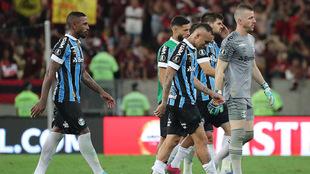 Gremio fue goleado por Flamengo en la vuelta de la semifinal