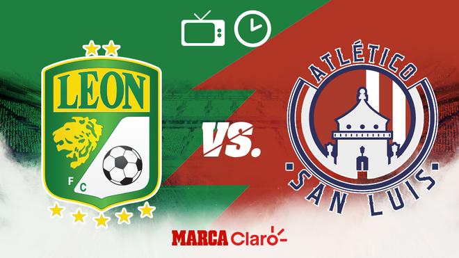 León vs San Luis: Horario y dónde ver en vivo por TV y streaming la...
